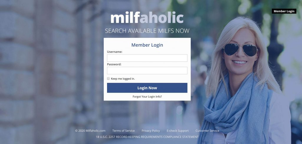 Milfaholic site reviews