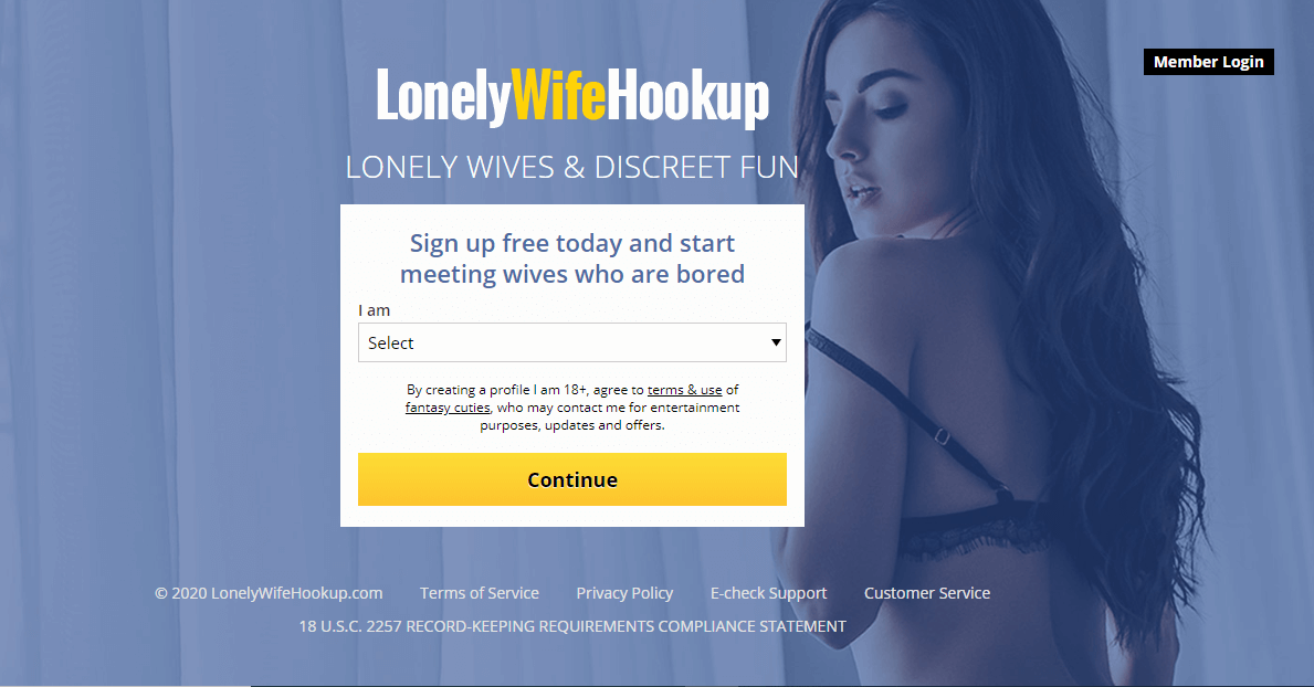 Lonelywifehookup review