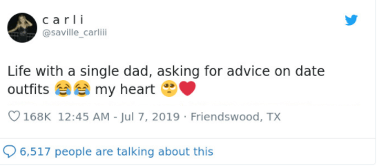Dad Asks Daughter for Fashion Tips for a Date and Conversation Went Viral