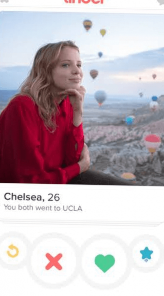 What are you looking for on Tinder?